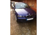 BREAKING BMW E46 318 TI COMPACT, VELVET BLUE INDIVIDUAL, ALL PARTS AVAILABLE