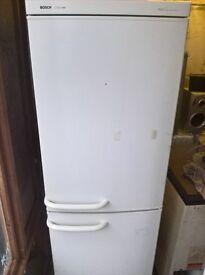 White fridge freezer..Cheap ..50/50 free delivery
