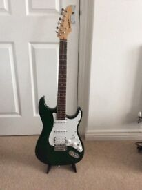 A Electric Strat Style Guitar For Sale.