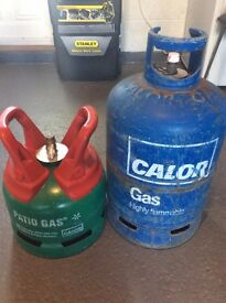 2 Calor Gas Cylinders: FREE