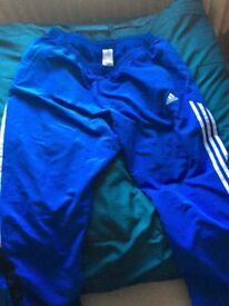 Men's audits tracksuit bottoms xxl