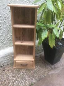 Solid Pine shelf and drawer handmade in Porthleven Cornwall