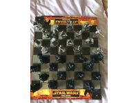 A Collectors Star Wars limited edition chess set from non smoking home
