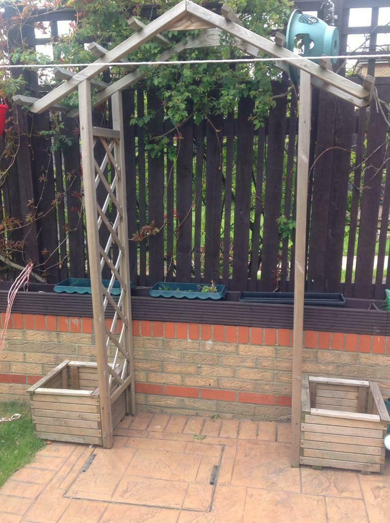Garden Pergola With Planters In Sunderland Tyne And Wear Gumtree
