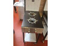Cooker Gas 2 burner / Restaurant / Fast Food / Take Away