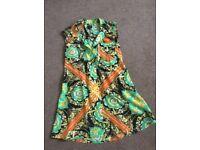 LADIES PATTERNED SHIRT/DRESS
