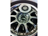 Set of 4 Alloy Wheels for VW With tyres fitted 195/60/R15