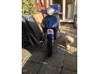 Piagio Liberty 125 low milage full years MOT
