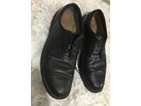Men's Clarkes Leather Shoes - Used
