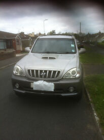 hyundai terracan 2.9 2004 94,000 miles two owners in current 10 mon mot