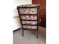 Parker Knoll type living room chair.