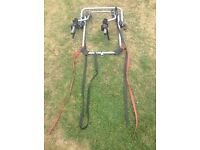 Halfords 2 bike carrier for a 4x4 with spare wheel
