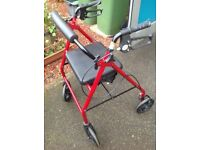Immaculate 'Drive walking rollator' - Only used 3 times - virtually brand new