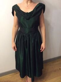 Dark green Vivien Smith evening/cocoktail/prom/black tie dress