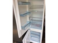 Fridge freezer integrated swan srb8010w built in white,brand new never used,grade A,retails £369