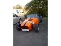 7 Style 'Kitcar' Special. Fully on road! Summer fun! Head turner!