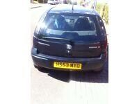 Vauxhall corsa 1.2L for sale.
