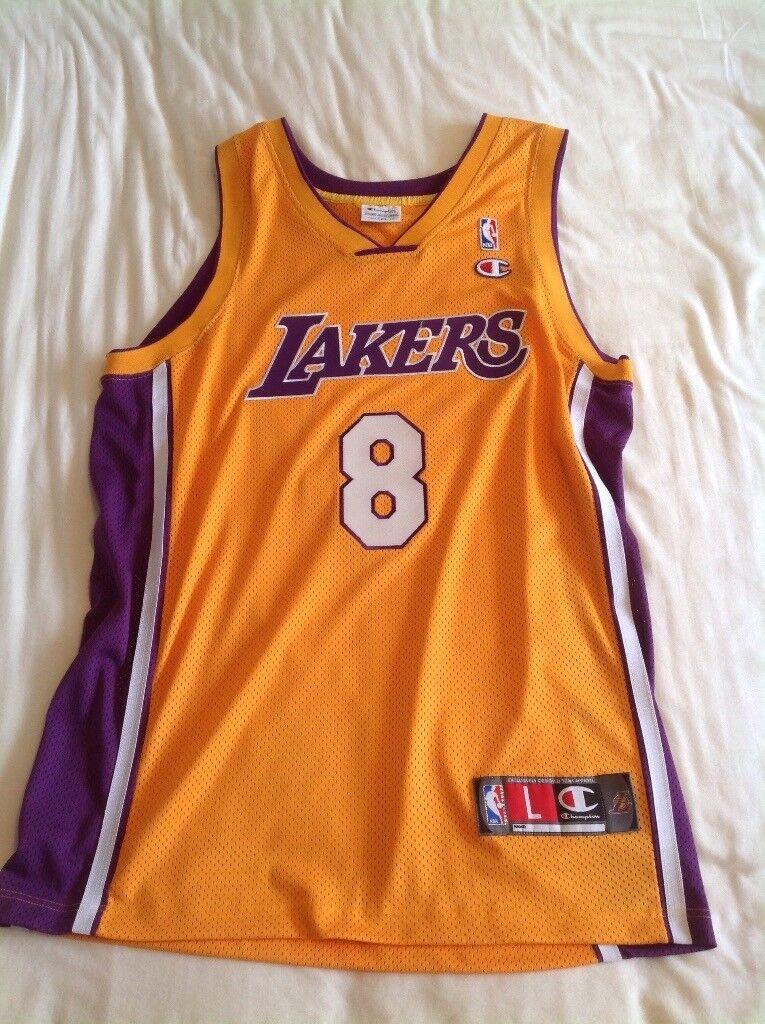 Kobe Bryant #8 LA Lakers Basketball jersey - Large