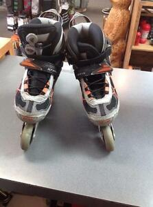 Firefly SP700 Inline Skates Size 7 Grey/ Orange (SKU:N9S97Y) Calgary Alberta Preview