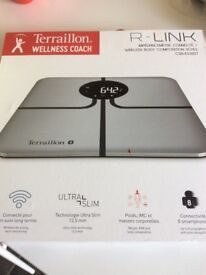 Brand New Terraillon Wireless Body Composition Scales