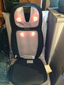 Home medics seat massager with heat