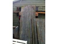 Metal panels for roofs,sheds,animal enclosures etc