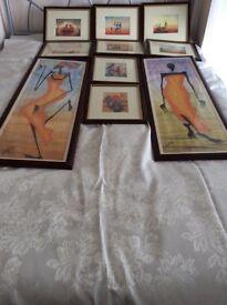 African prints & floral prints