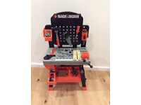 Black and decker toy workbench