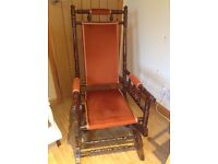 Antique American Rocking Chair