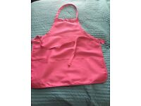 11 Pink Aprons with pockets
