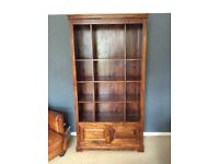 Mahogany bookcase excellent condition