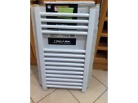 Brand new , boxed central heating towel radiator
