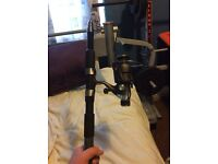 Shakespeare 9ft spinning rod with Shakespeare OMNI 30rd reel