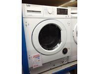 Beko 7kg intergrated washer/dryer. 12. Month gtee