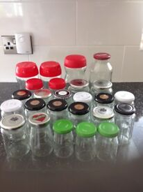 Free Glass Jars and Lids