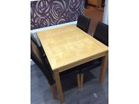Table and Chairs - Great condition