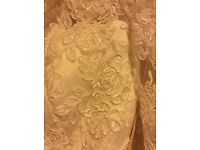 Ivory wedding dress size 14