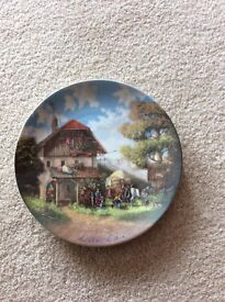 Rare vintage collectable plate