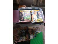 Striker - history of sun comic strip + comics published during split with Sun. £20 job lot.