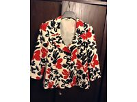 Fab bright coloured ladies jacket - Size 14