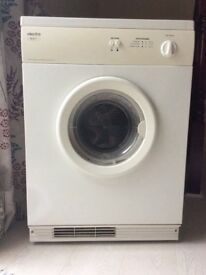 Dryer in a perfect working condition. No more needed as I have a combined one and no space.