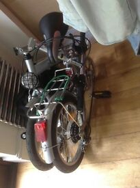 Folding bicycle, ridden 3 times £90