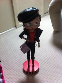 Limited edition Betty boop