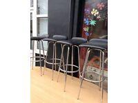 4x swivel bar stools