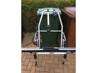 Thule 9105 Hang On Rear Mounted Cycle Carrier ClipOn - carries 2 cycles