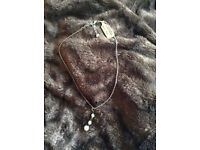 New Bana Republic necklace with tag