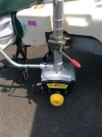 Caravan jockey wheel motor mover