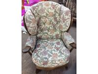 Chair with removable covers