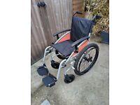 Excel G-Explorer lightweight wheelchair folding wheelchair from Van Os