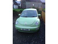 2004 Volkswagon Beetle 1.9tdi
